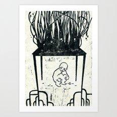 hunger strike Art Print