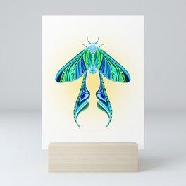 EtEHtH Moth (Inverted) Mini Art Print