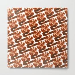 Paint Waves II Metal Print