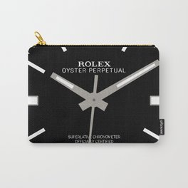 Rolex Oyster Perpetual - 114300 - Black Dial Carry-All Pouch