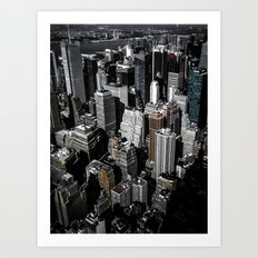 Boxes of Manhattan Art Print