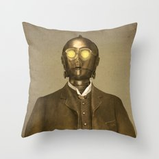 Baron Von Three PO  Throw Pillow