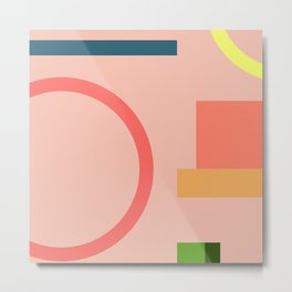 Modern Geometric 70 Metal Print