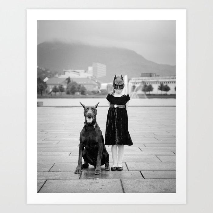 Batgirl II  Art Print