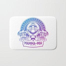 Mamma Mia Super Mario is-a Crazy Bath Mat