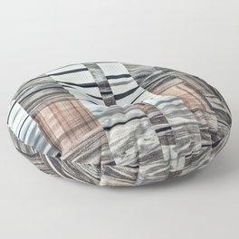 Coded Terrain Floor Pillow