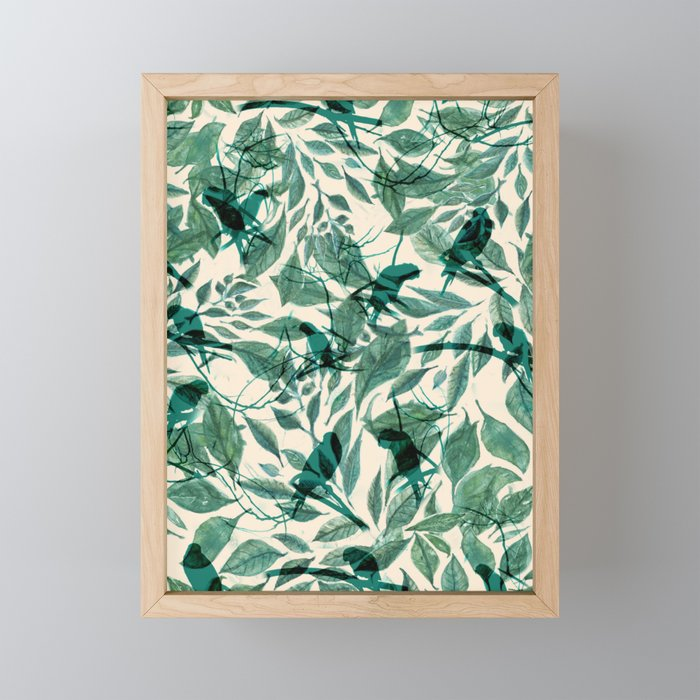 Tropical Sound Framed Mini Art Print