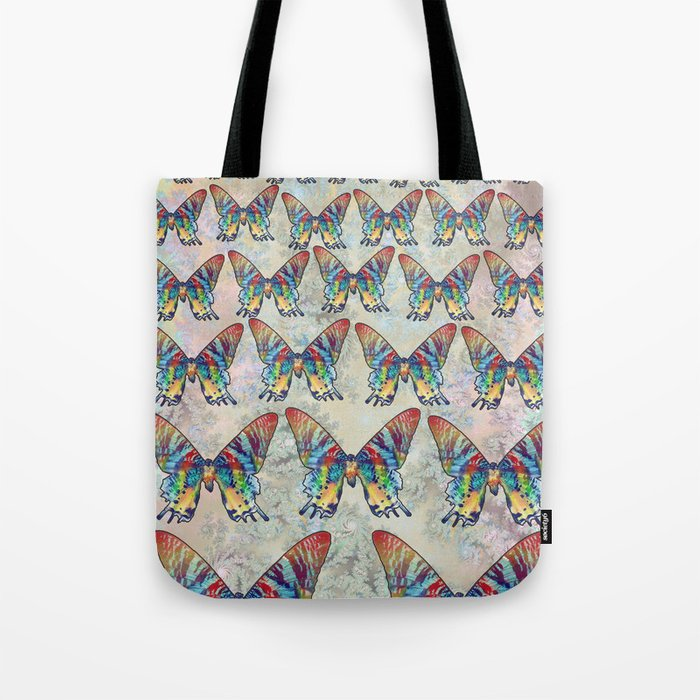 butterfly in the sky Tote Bag