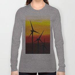 Two Windmills Long Sleeve T-shirt