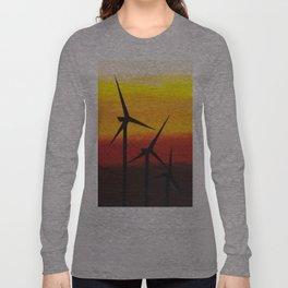 Two Windmills Long Sleeve T-shirt