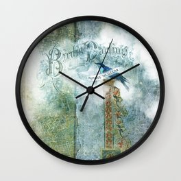 Birdie Darling Wall Clock