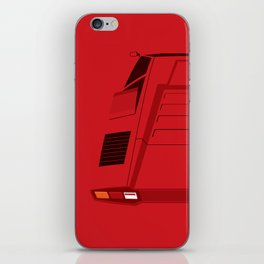 Countach in Red iPhone Skin