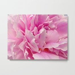 pink peony #society6 #decor #buyart Metal Print