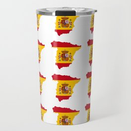 Flag of spain 3-spain,espana, spanish,plus ultra,espanol,Castellano,Madrid,Barcelona Travel Mug