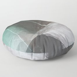 Marble Teal Layers Floor Pillow