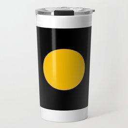 Light in the Dark | Yellow Circle Travel Mug
