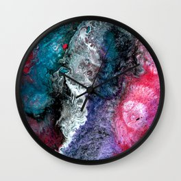 Super Nova Explosion Wall Clock