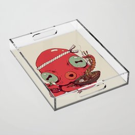 Spicy Ramen Acrylic Tray