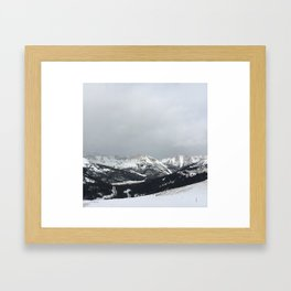 Keystone Mountains - Colorado Framed Art Print