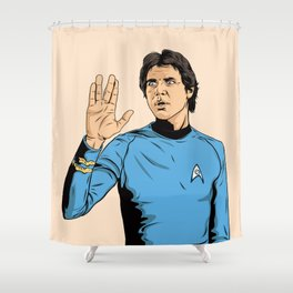 What the F**K? Shower Curtain