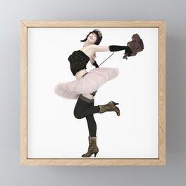 The Fiddler Framed Mini Art Print