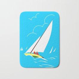 Sailing Bath Mat