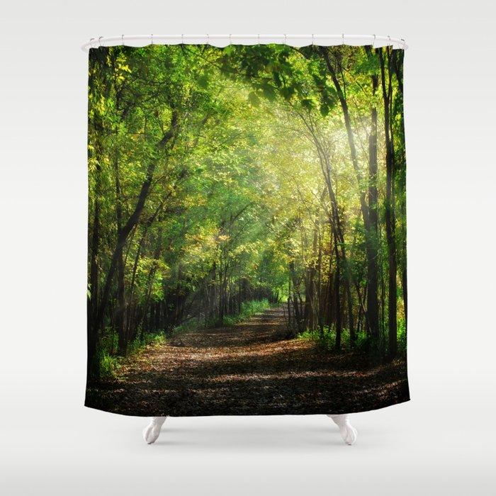Fall Splendor Shower Curtain