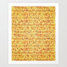 rhythm 3.4 Art Print