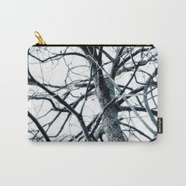 Winter Trees #photography #outdoor #nature Carry-All Pouch