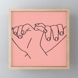 sisterhood Framed Mini Art Print