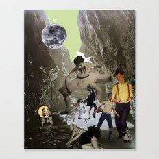 Dancing Cave Canvas Print