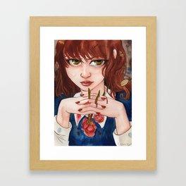 Blood Roses Framed Art Print