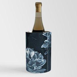 Blue Peonies Wine Chiller