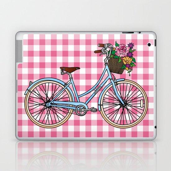 Her Bicycle Laptop & iPad Skin