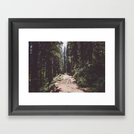 Entering the Wilderness - Landscape and Nature Photography Framed Art Print