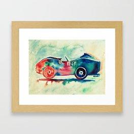 Ferrari 124 PM Framed Art Print