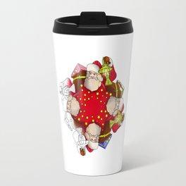 Santa Claus Mandala Travel Mug