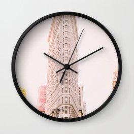 Flatiron - NYC Wall Clock