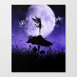 Fairy Silhouette 2 Canvas Print