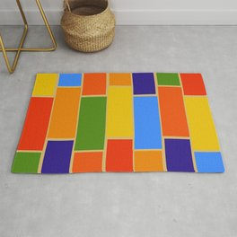 Colored Tiles Version 1 Rug