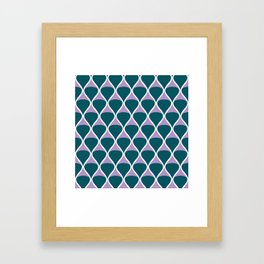 Drops .forestfruit Framed Art Print