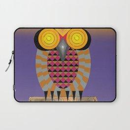 El búho Canario Laptop Sleeve