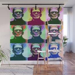 Frankenstein Pop Art Wall Mural