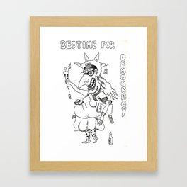 Sleepwalking Framed Art Print