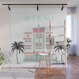 Miami Art Deco Vibes Wall Mural