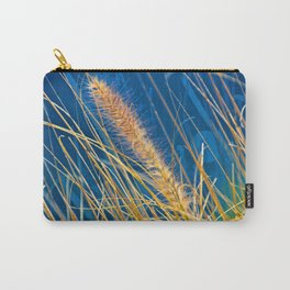 Golden Grass Carry-All Pouch