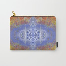 Psycho - Fire surrounding Ice with great depth by annmariescreations Carry-All Pouch
