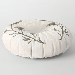 Queen Anne's Lace Floor Pillow
