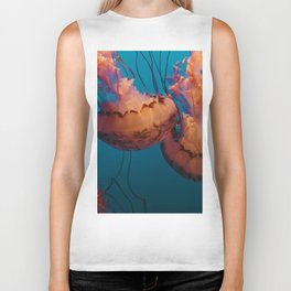 Jellyfish (Water) Biker Tank