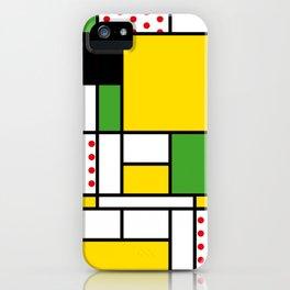 Mondrian - Bicycle iPhone Case